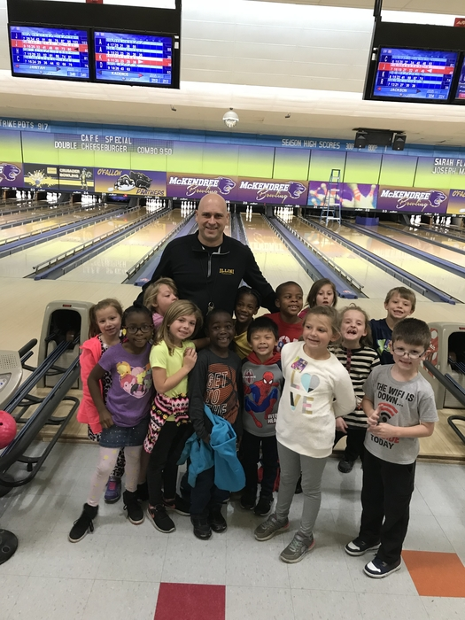We all had a great time bowling!