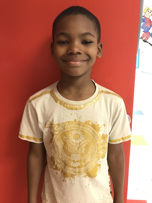 We recently learned about the Great Seal. He was so excited to wear this shirt to school! The kids loved it!