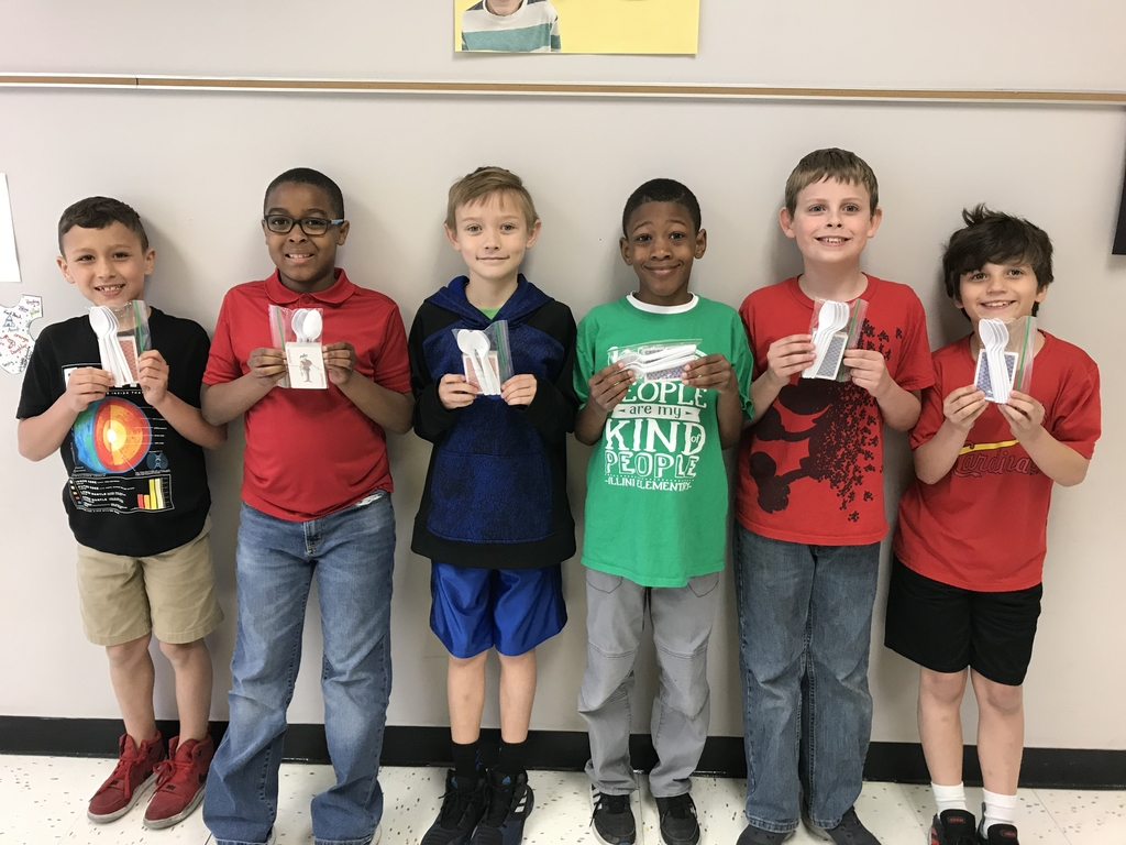 Congratulations to Mrs. Hundsdorfer's students who mastered their multiplication facts! Part of their reward included the game of Spoons!