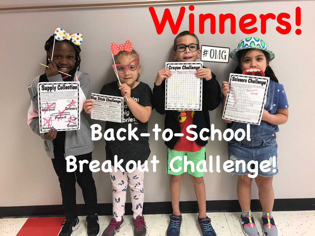 Back-to-School Breakout Challenge!