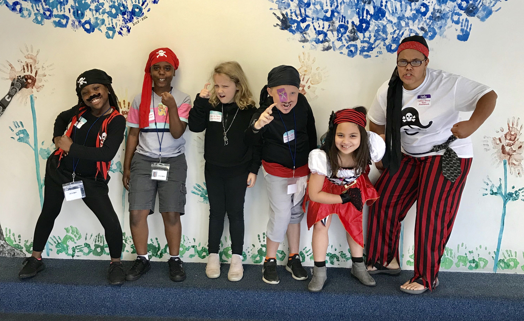 Talk Like a Pirate Day! The kids enjoyed their new pirate names, but some had to walk the plank! 🏴‍☠️
