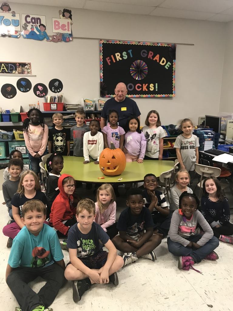 A big thanks to Mr.Carthy for carving our pumpkin.