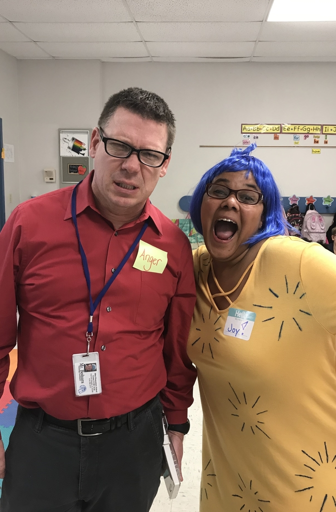 Channeling some Inside Out on Disney Day!