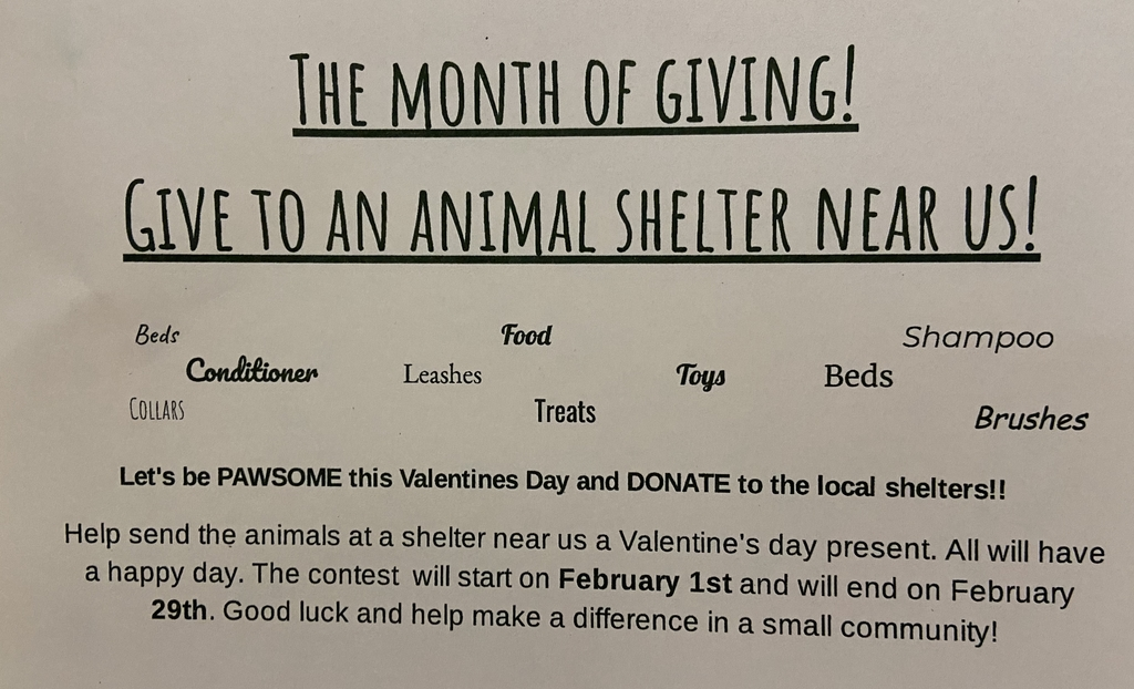 Help Grant Kindness Club spread the love in February