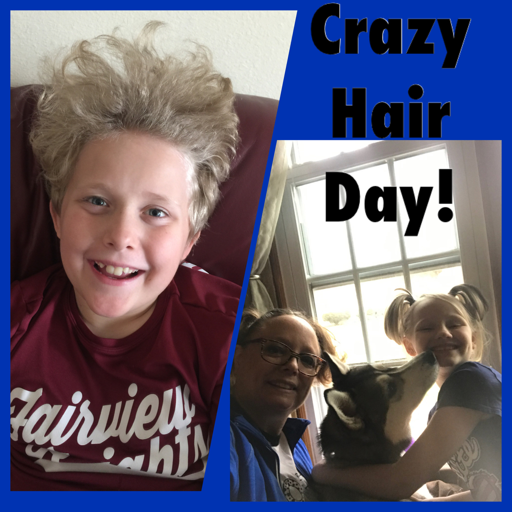 Crazy Hair Day! March 24, 2020