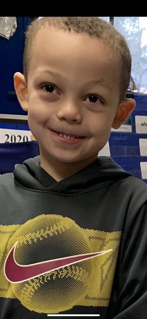 "I am happy to announce this month's ""Student of the Month"".  Jack is a kind, caring, respectful and hard-working Kindergarten Student.  I am so proud of Jack's efforts during these last several weeks of E Learning Days.  Congratulations Jack!"