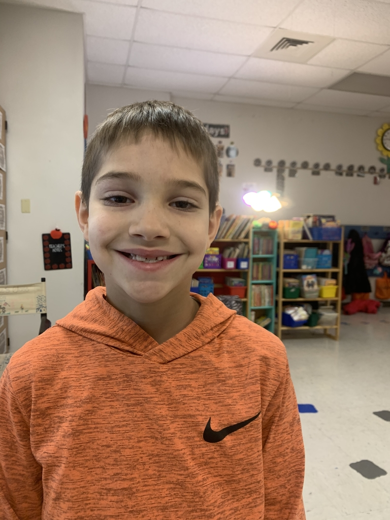 Mrs. Schuetz's May Student of Month